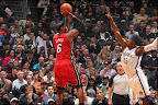 lebron james nba 130130 mia at bro 08 LeBron Torches Nets in Angry Mode. Debuts LeBron X No. 17!