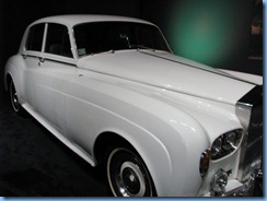 8298 Graceland, Memphis, Tennessee - Elvis Presley's Automobile Museum - 1966 Rolls Royce Silver Cloud