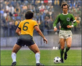 Franz Beckenbauer greatest footballer of Germany