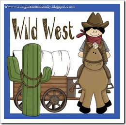 history for kids - wild west theme