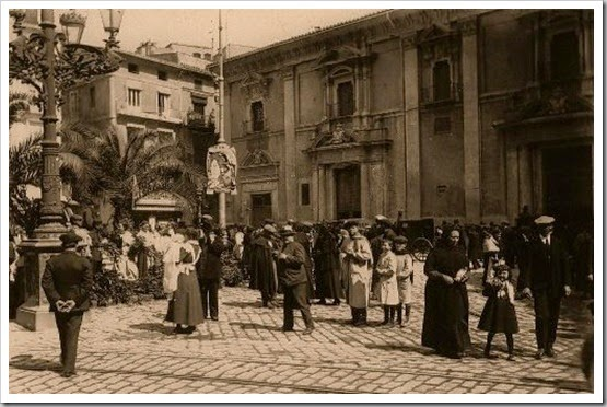 plaza dela virgen 1920