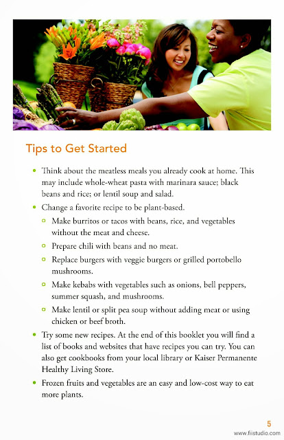 What Kaiser Diet | new plant based diet brochure download ...