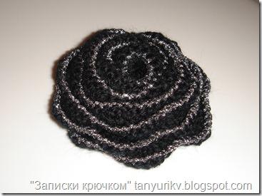 цветы крючком, вязание цветов крючком, вязаные украшения