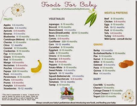 babyfoodchart