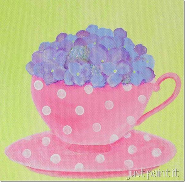 paint-hydrangea-I