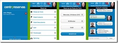 El sistema de gestión Centroreservas presenta su APP para iPhone, iPad, Android y Blackberry.