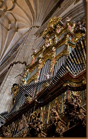 Salamanca organ and choir stalls