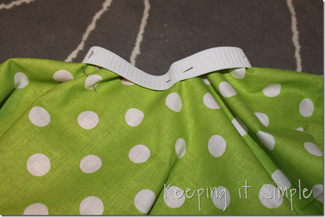 square circle Christmas skirt (8)
