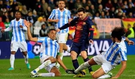 Malaga vs Barcelona 1-3