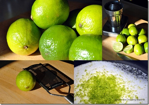 Lime and Prosecco Sorbet