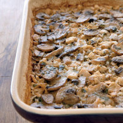 Marsala Chicken-and-Mushroom Casserole
