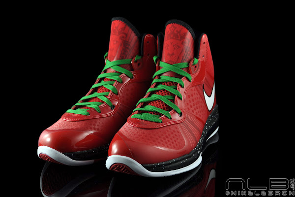 The Showcase Nike Air Max LeBron 8 V2 Christmas Exclusive