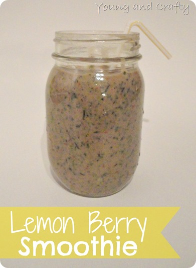 Lemon Berry Smoothie 1