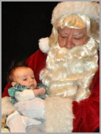 Josiah and Santa