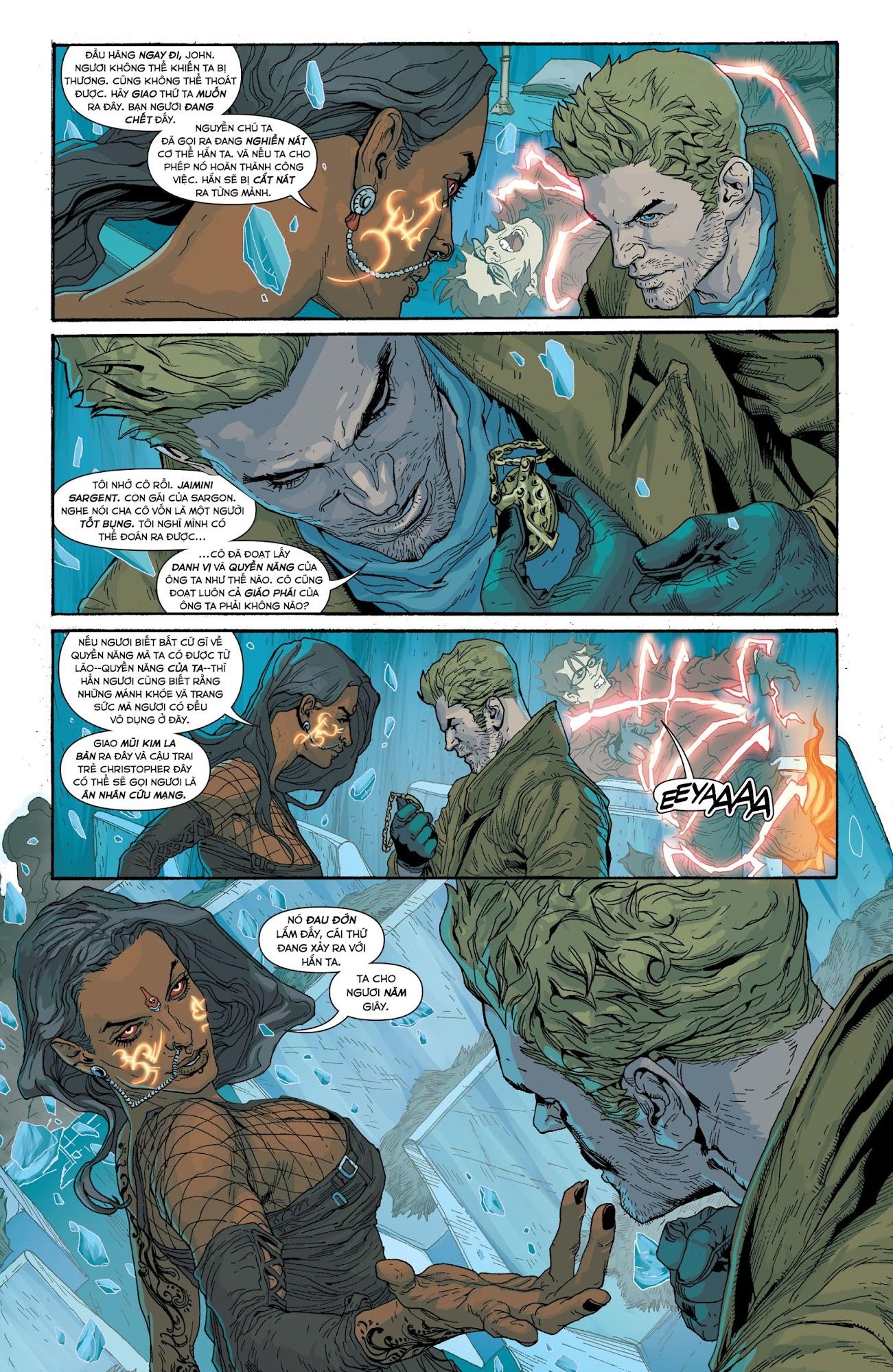 Constantine 2013: Chapter 1: Đốm Sáng Và Quầng Lửa - Phần 1