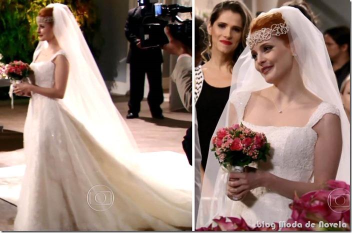 moda da novela sangue bom - vestido de noiva da lara keler capítulo 24 de setembro de 2013 a