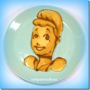 Disney princess pancakes