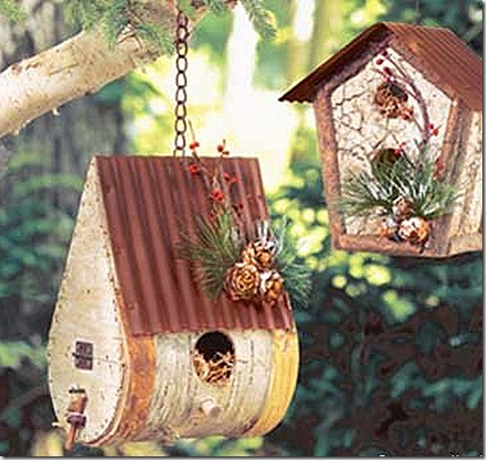 Скворечники для птиц своими руками из подручного