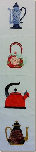 teapots 1-4