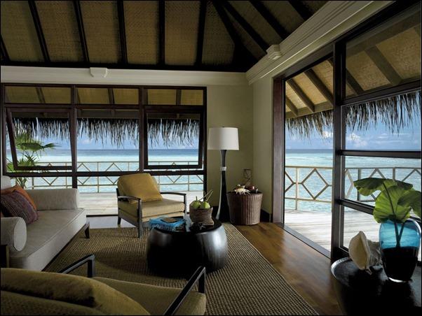 غرف المالديف