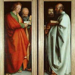 93 - Durero - Los cuatro evangelistas