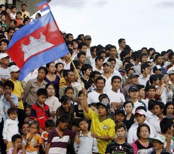 penduduk Kamboja
