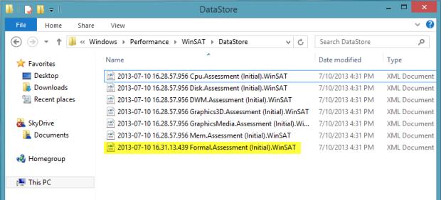 datastore-winsat