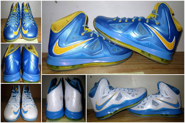 Detailed Look at Swin Cash8217s LEBRON X Chicago Sky PEs