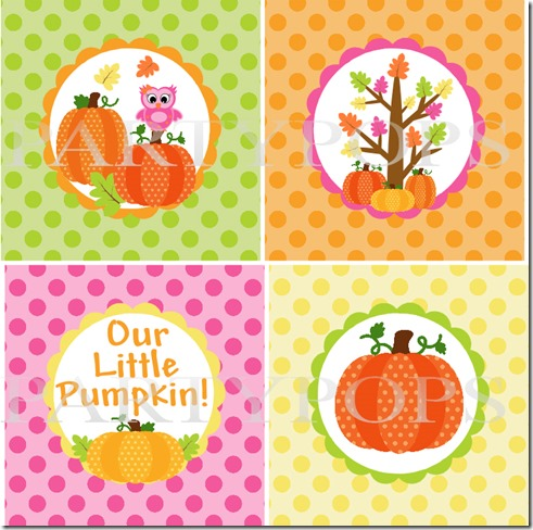 Pumpkin Banner Decor 1