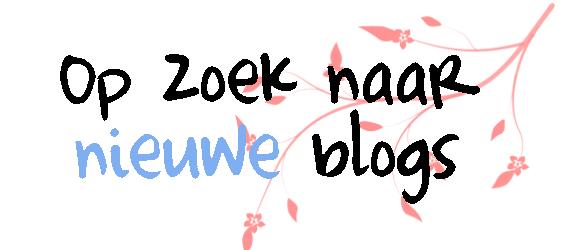 op zoek naar nieuwe blogs