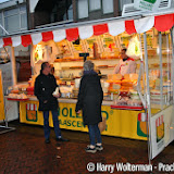 Weekmarkt Nieuwe Pekela is uitgebreid - Foto's Harry Wolterman
