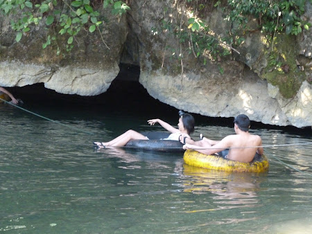 Cave tubing Vang Vieng Laos