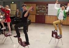"""Ricky Martin puso a todos a bailar en """"Glee"""""""