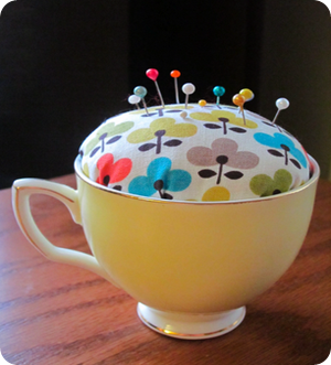 tea cup pincushion tutorial