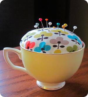 tea cup pincushion tutorial