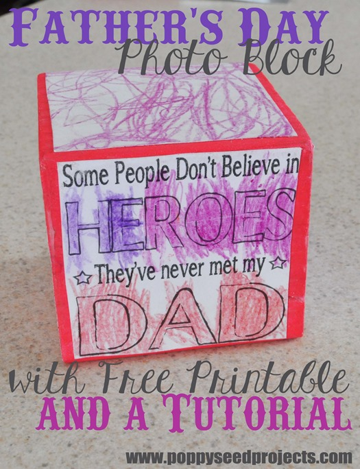 Last minute Father's Day ideas and a free printable.