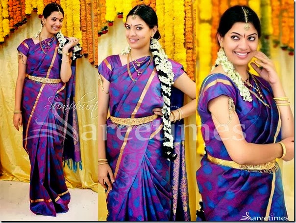 Geetha_Madhuri_Purple_Traditional_Silk_Saree