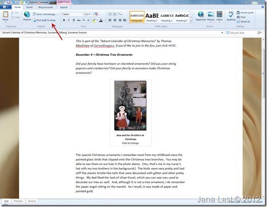 Windows Live Writer 5