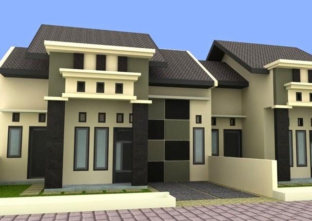 Desain rumah minimalis type 45 Yang Efisien