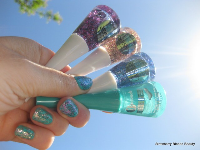 Bourjois-Laser-Toppings-AquaPurple-SunScales-BlueNeon-swatches-photos