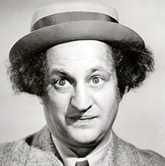 Larry Fine Portrait cameo