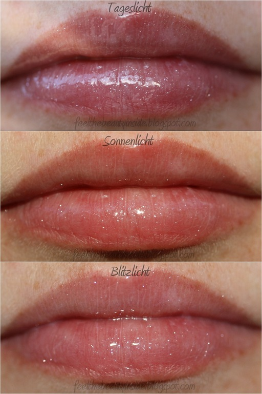 essence Lipgloss 02 Diamond Dust Tragebild