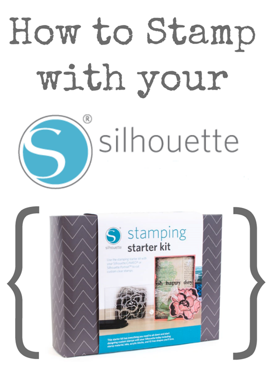 How to Stamp with your Silhouette #spon
