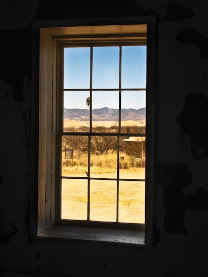 Empire Ranch Window View