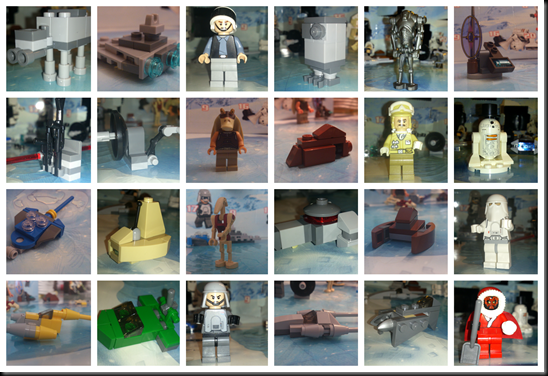 LEGO Star Wars Advents Kalender 2012