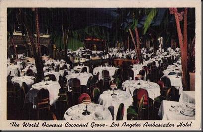 Cocoanut Grove-Postcard