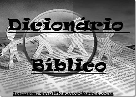 dicionario biblico