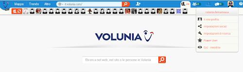 Volunia - la home page