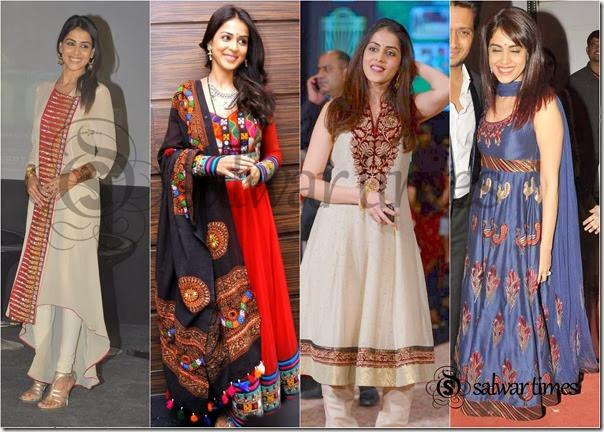 Genelia Salwar_Collection