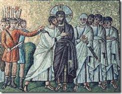 Judas trai com um beijjo